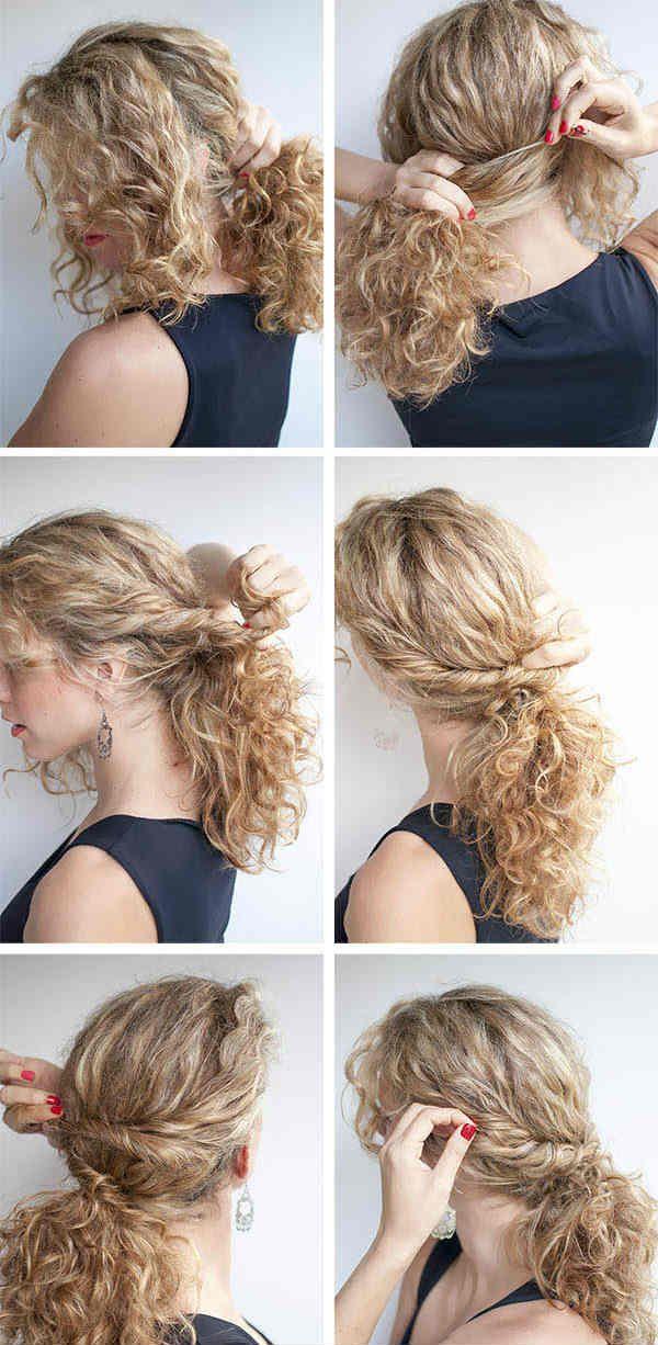 Зачіска з джгутами фото