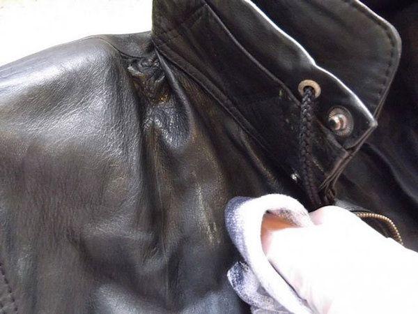 як почистити шкіряну куртку