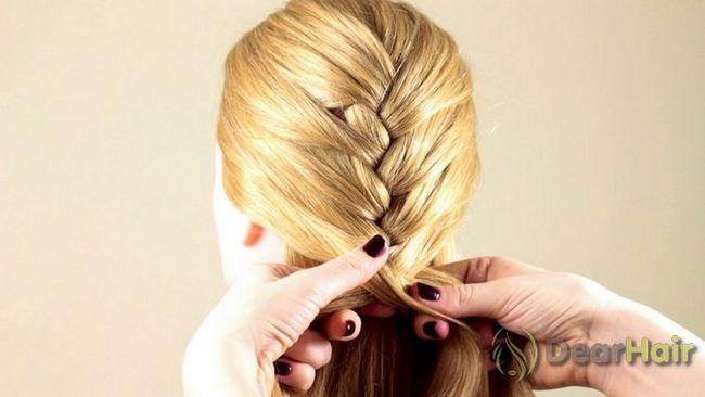 Частинка франції будинку - робимо зачіску самостійно