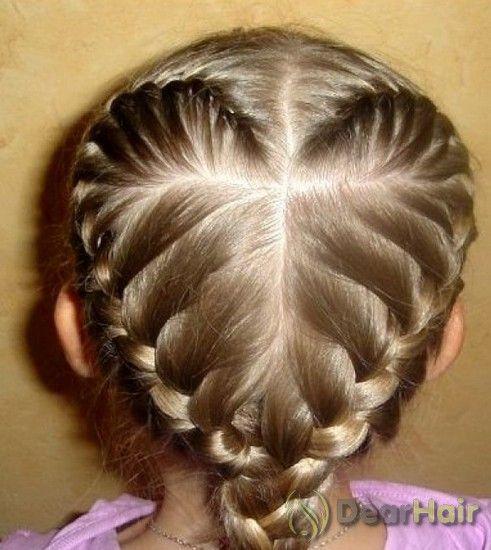 Дитячі зачіски для щасливої усмішки вашої дитини на кожен день