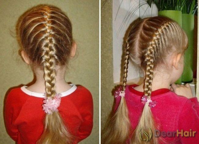 Дитячі зачіски на середні волосся: нові ідеї, поради, аксесуари