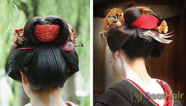 Грація і стиль японських зачісок