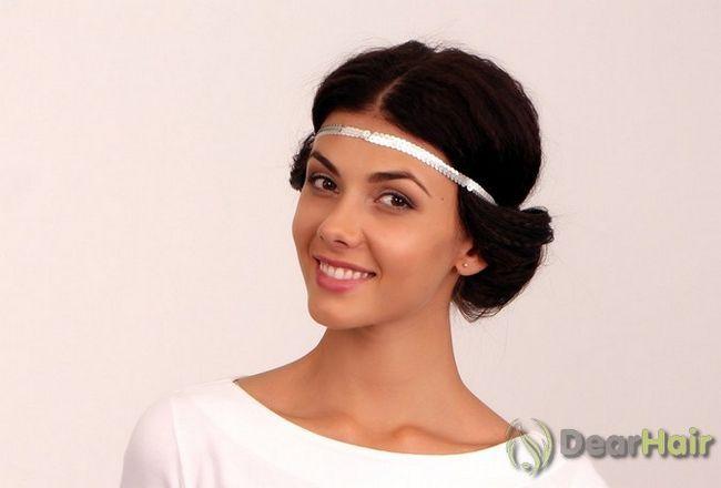 Грецька зачіска з шовкової пов`язкою: створюємо шедевр своїми руками