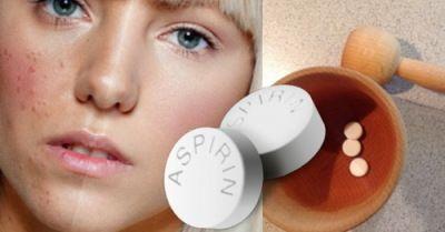 Маска від прищів з аспірину