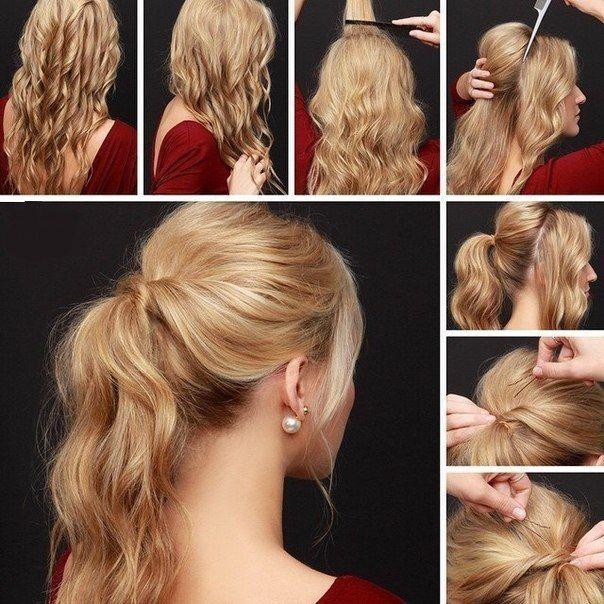 Як робити легкі і красиві зачіски своїми руками