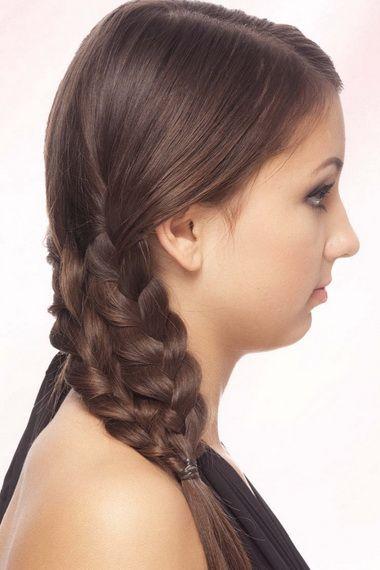Як плести ажурні коси на довге волосся