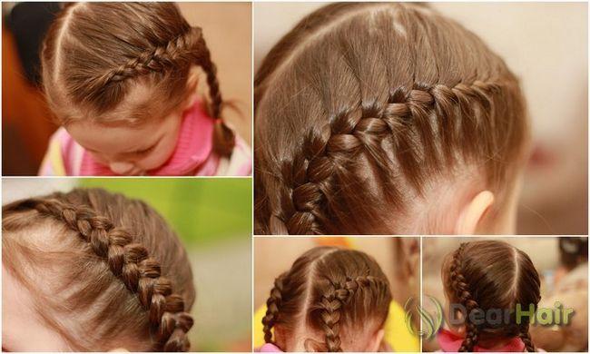 Як правильно вибрати і зробити шкільну зачіску для середніх