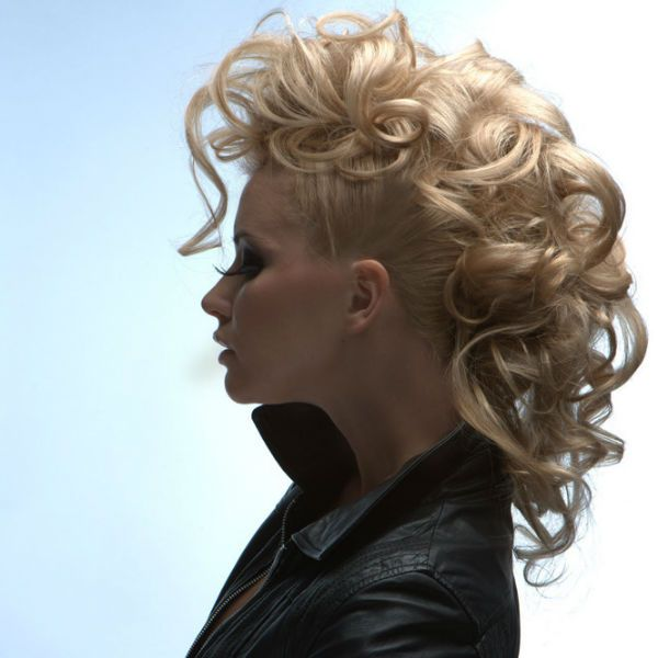 Зачіска в стилі панк фото