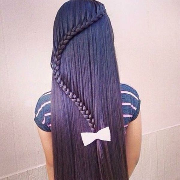 Вигнута коса фото