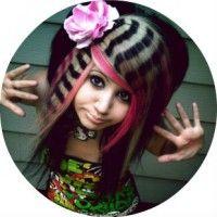 Як самостійно зробити зачіску в стилі емо