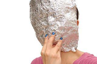 Формуємо основу для маски з фольги фото