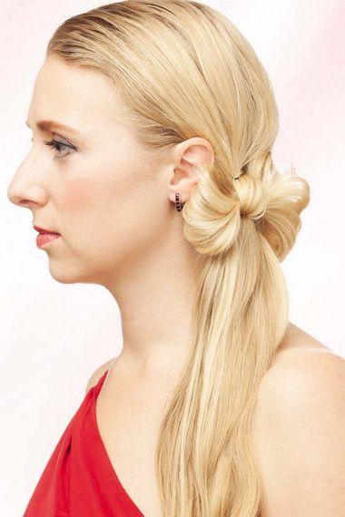 Як зробити зачіску хвіст своїми руками?