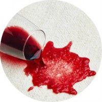Як вивести пляму від червоного вина