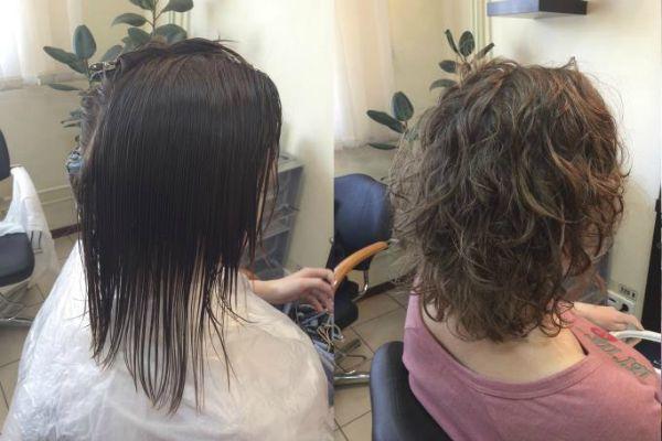 Карвінг на різну довжину волосся з фото до і після