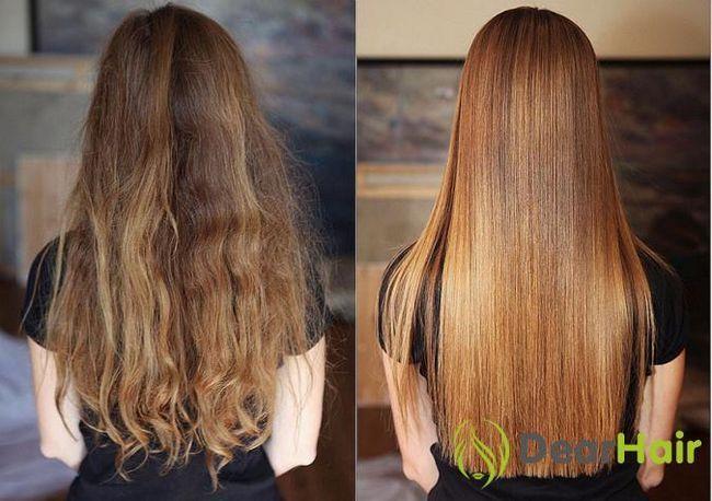 Кератинове вирівнювання: які кошти для волосся використовувати?