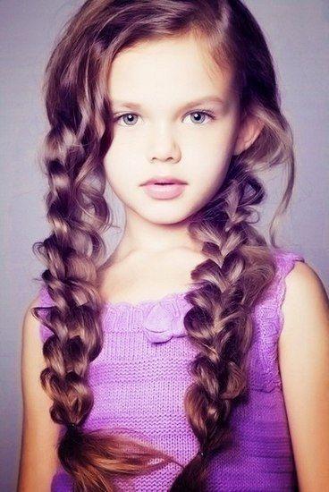Кіски, як варіант зачіски для дітей - від простого до складного