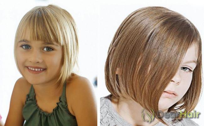 Красиві і легкі зачіски в школу для короткого волосся