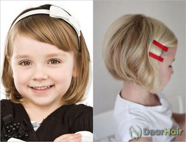 Красиві і оригінальні дитячі зачіски