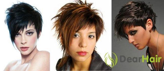 Креативні жіночі стрижки для короткого волосся