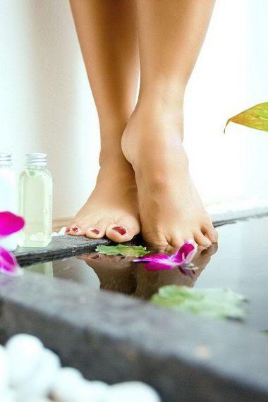 Лікування ніг в домашніх умовах