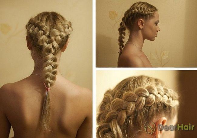 Легке створення красивих довговолосих зачісок