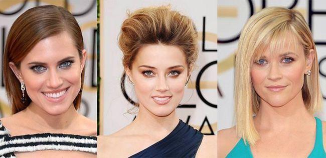 Кращі зачіски зірок і макіяж на церемонії золотий глобус