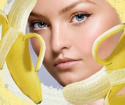Маска для обличчя з банана: користь фруктів наявності