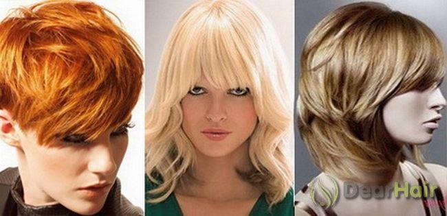 Модні і красиві стрижки для волосся різної довжини
