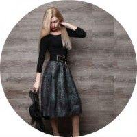 Модні моделі спідниці-тюльпан