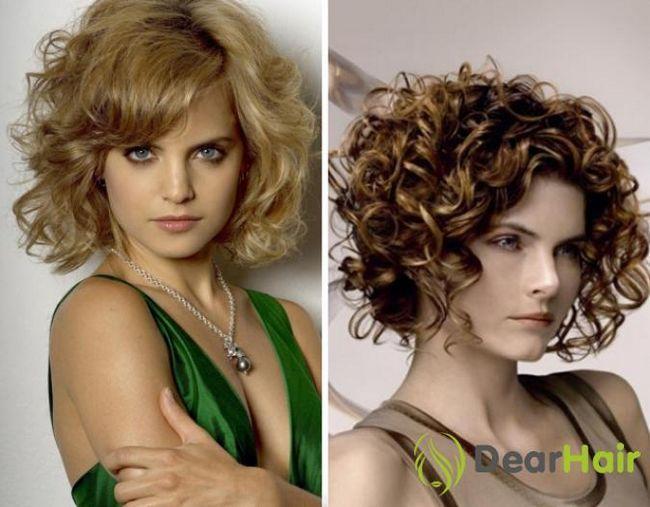 Особливості стрижок кучерявого волосся до плечей