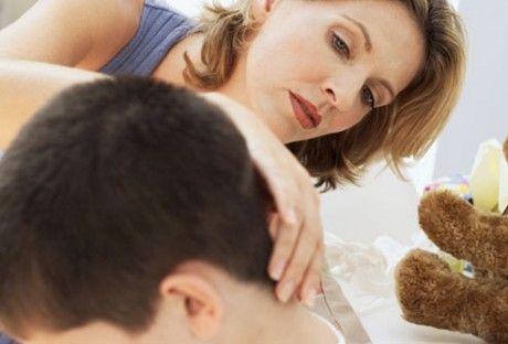 Проблеми зі шкірою - висип на шиї