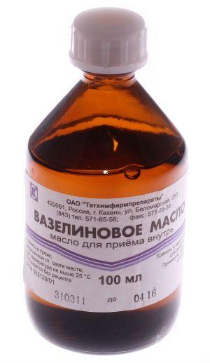 Вазелінове масло фото