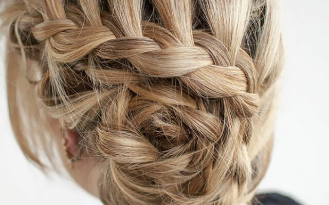 Плетіння кошики з волосся: інструкція до зачіски
