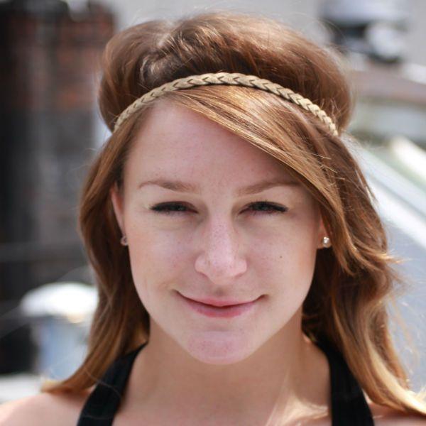 Єгипетська зачіска з пов`язкою фото