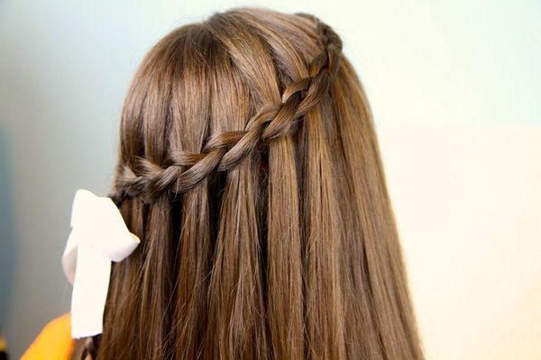 Зачіска французький водоспад - просто і елегантно!