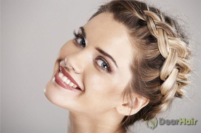 Зачіска у вигляді колоска - створюємо ефектний образ