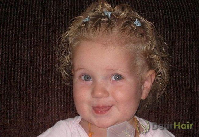 Зачіски дівчаткам дошкільного та шкільного віку на коротке волосся