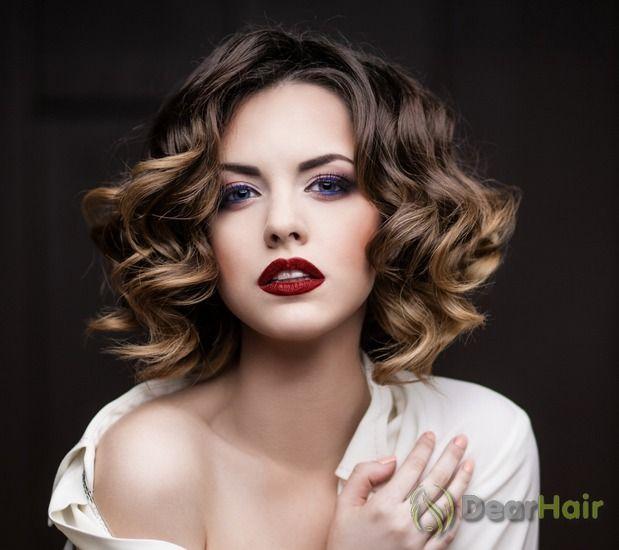 Зачіски на тонке волосся середньої довжини для модних жінок