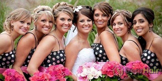 Зачіски дружки на весілля: від «а» до «я»