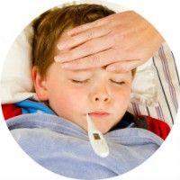Причини і лікування високої температури у дитини без симптомів