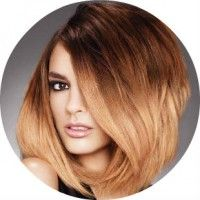 Приклади фарбування волосся різної довжини в техніці шатушь