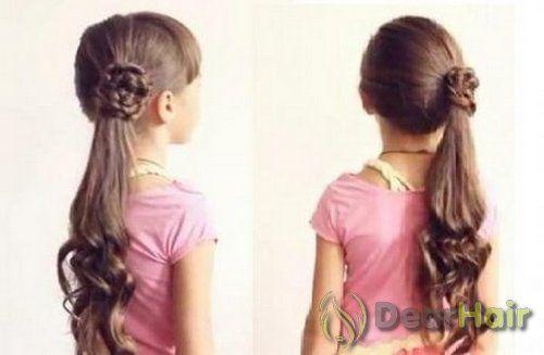 Сучасні варіанти зачісок в школу для довгого волосся