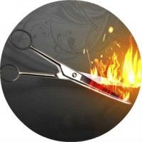 Стрижка волосся гарячими ножицями - особливості, переваги, техніка, ефект