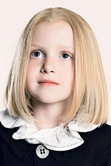 Стрижки для маленьких дівчаток: дитяче каре