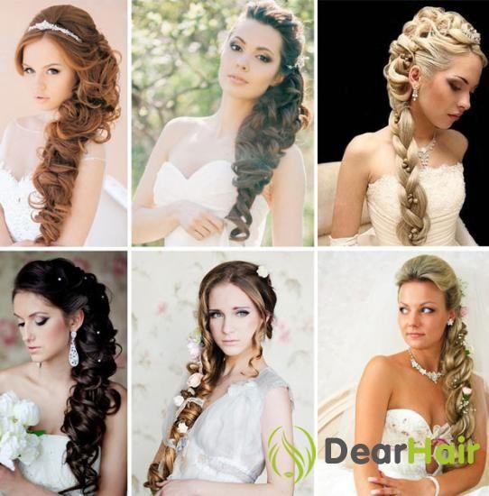 Весільна зачіска з косою - ніжно, трепетно, витончено