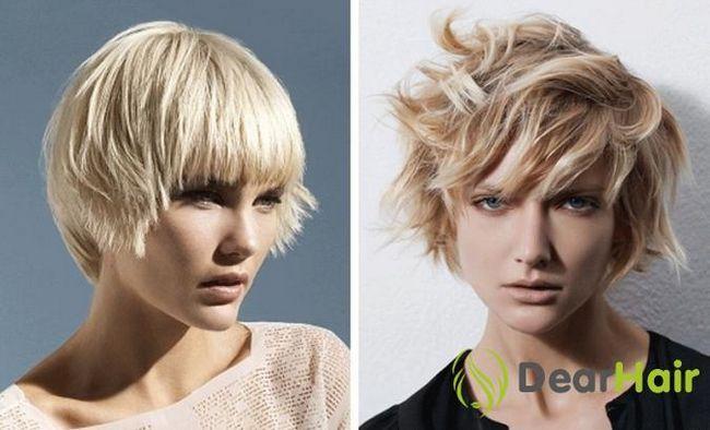Градуйовані стрижки: застосування для короткого волосся