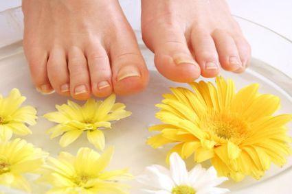 Ванночки для ніг при гіпергідрозі в домашніх умовах