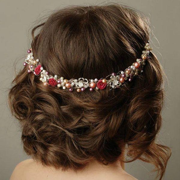 Весільна зачіска 2 фото
