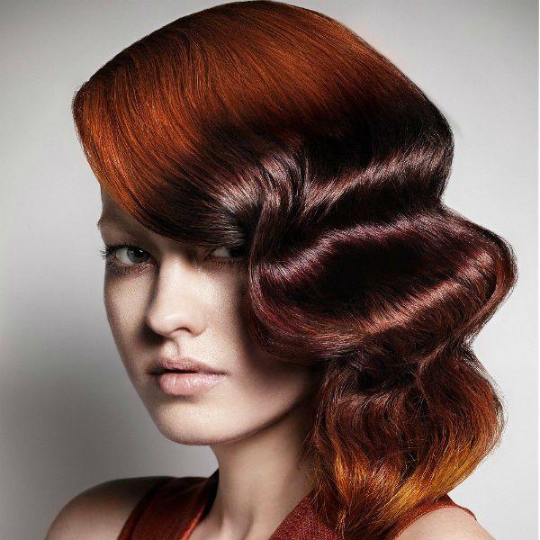Креативна зачіска на середніх волоссі фото