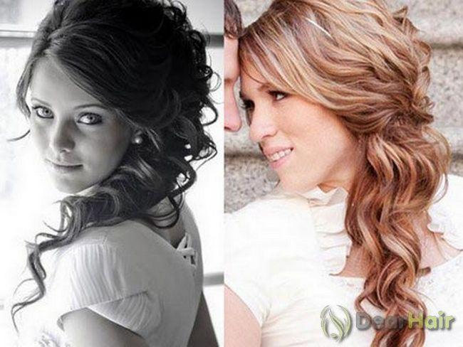 Варіанти зачісок на бік для довгого волосся
